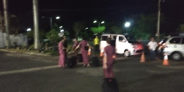 Tabrak Tiang Pesawat Lion Air Bengkulu Jakarta Gagal Terbang