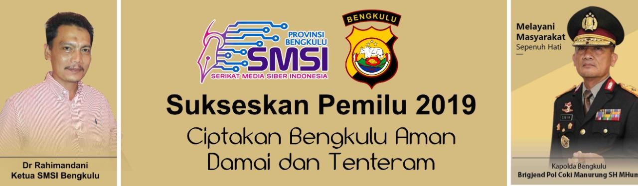 SMSI dan Polda Bengkulu Pemilu 2019