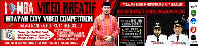 Diskominfosan Kota Bengkulu Lomba Video Kreatif Hidayah City Video Competition