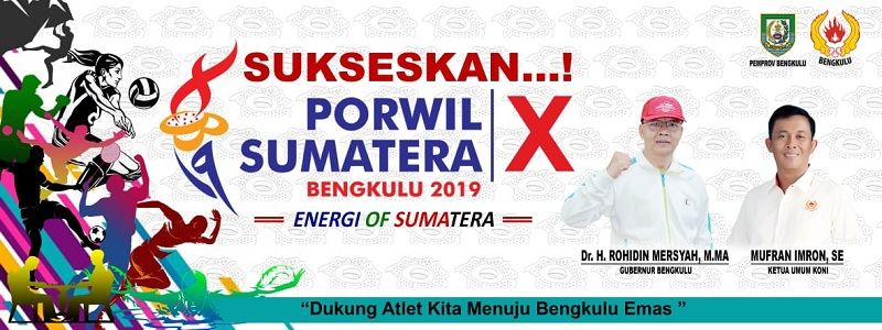 PORWIL Sumatera X KONI Bengkulu