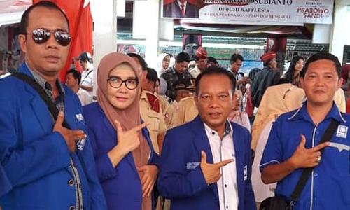 Ketua dan Bendahara DPD PAN Kota Bengkulu, Mardiyanti dan Indra Sukma, kembali terpilih menjadi anggota DPRD Kota Bengkulu/Foto Facebook Mardiyanti Taher