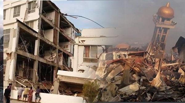 Kerusakan yang Diakibatkan Gempa dan Tsunami/Ilustrasi (Sumber; Tribunnews.com)