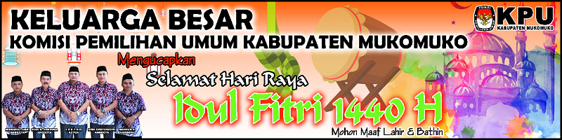 KPU Mukomuko Idul Fitri